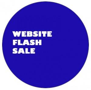 website flash sale